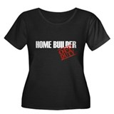 Off Duty Home Builder Women's Plus Size Scoop Neck