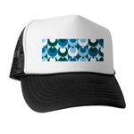 Blue Circles Trucker Hat