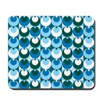 Blue Circles Mousepad
