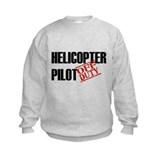 Off Duty Helicopter Pilot Sweatshirt