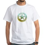 Stinkin Badge White T-Shirt