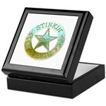 Stinkin Badge Keepsake Box