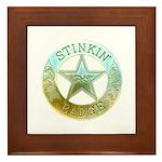 Stinkin Badge Framed Tile