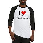 I Love My Cordwainer Baseball Jersey