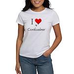 I Love My Cordwainer Women's T-Shirt