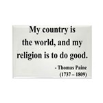 Thomas Paine 8 Rectangle Magnet (10 pack)