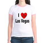I Love Las Vegas (Front) Jr. Ringer T-Shirt