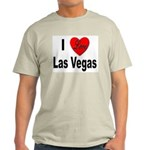 I Love Las Vegas Ash Grey T-Shirt