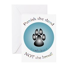 """Punish the deed"" Greeting Cards (Pk of 10)"