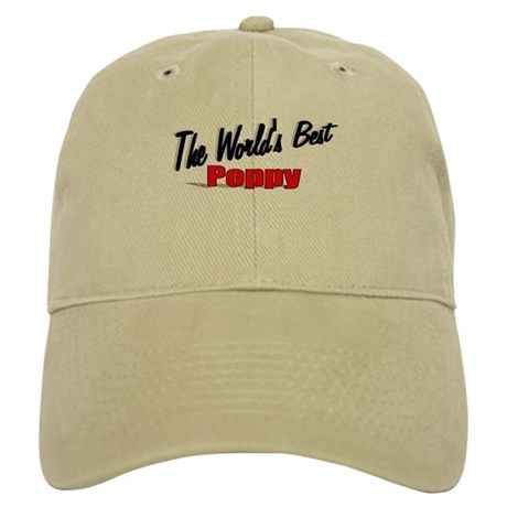 """The World's Best Poppy"" Cap"