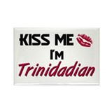 Kiss me I'm Trinidadian Rectangle Magnet (10 pack)