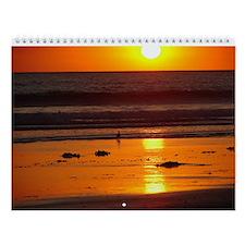 2013 Coranado Sunset Wall Calendar