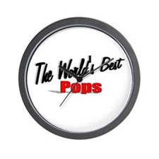 """The World's Best Pops"" Wall Clock"