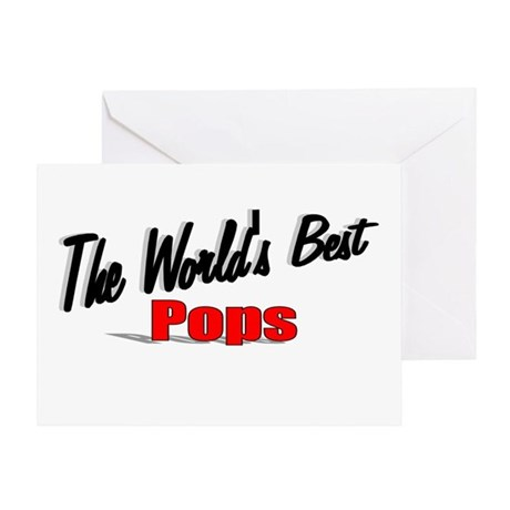 """The World's Best Pops"" Greeting Card"