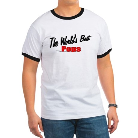 """The World's Best Pops"" Ringer T"