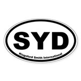 Kingsford Smith International Oval Decal