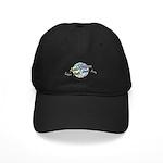 Autism Awareness Globe Black Cap