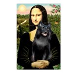 Mona's Schipperke (#5) Postcards (Package of 8)