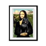 Mona's Schipperke (#5) Framed Panel Print