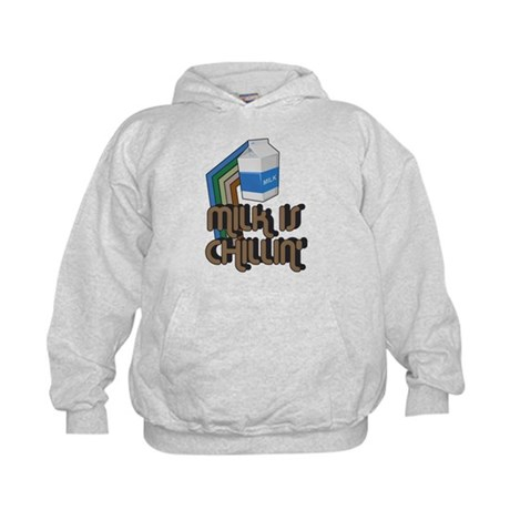 Milk is Chillin' Kids Hoodie