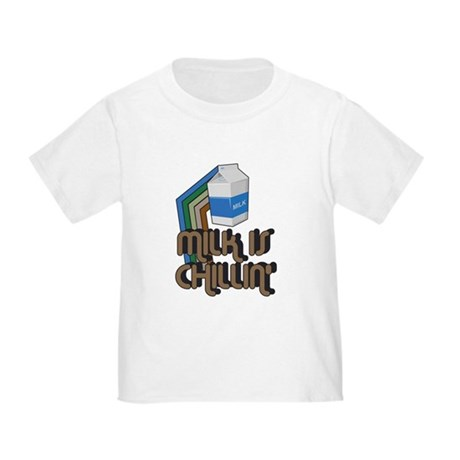Milk is Chillin' Toddler T-Shirt
