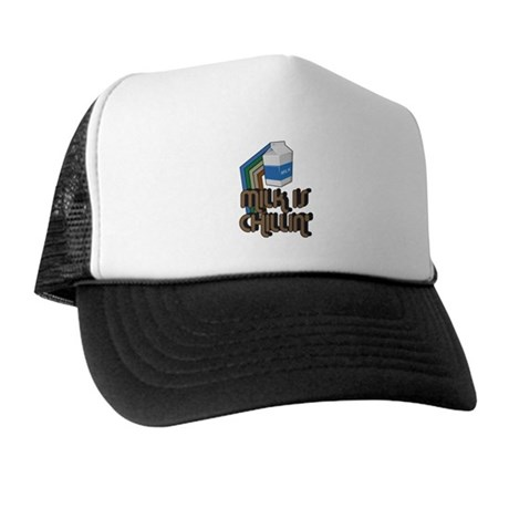 Milk is Chillin' Trucker Hat