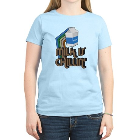 Milk is Chillin' Womens Light T-Shirt