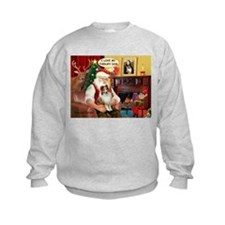 Santa/Sheltie Therapy Sweatshirt