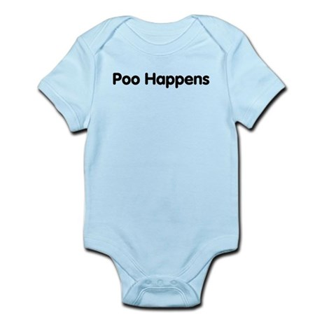 Poo Happens Infant Bodysuit
