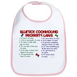 Bluetick Coonhound Property Laws 2 Bib