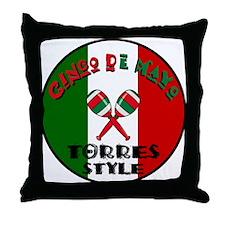 Torres Cinco De Mayo Throw Pillow
