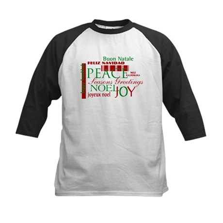 Season's Greetings Kids Baseball Jersey