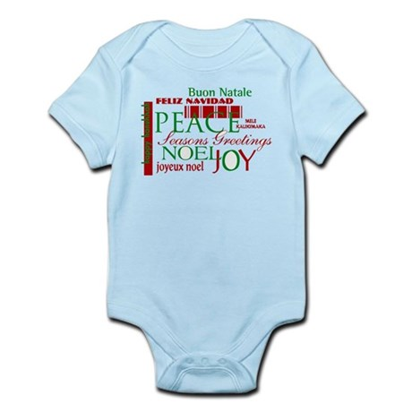 Season's Greetings Infant Bodysuit