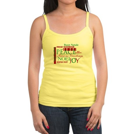 Season's Greetings Jr. Spaghetti Tank