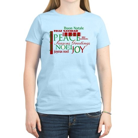 Season's Greetings Women's Light T-Shirt
