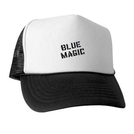 Blue Magic Trucker Hat