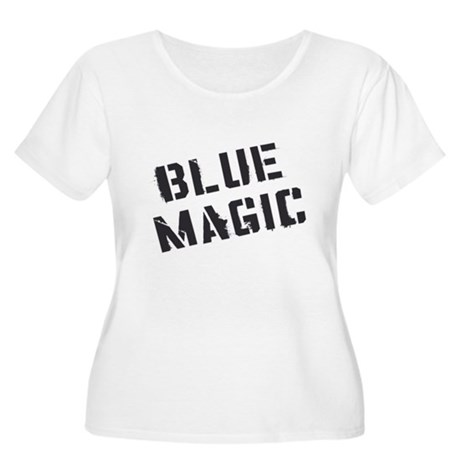 Blue Magic Plus Size Scoop Neck Shirt