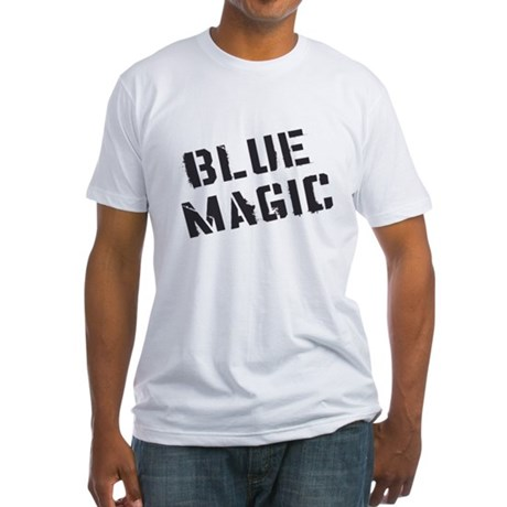 Blue Magic Fitted T-Shirt