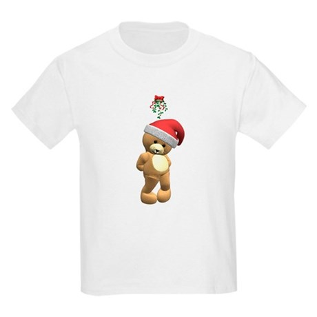 Christmas Teddy Bear Kids Light T-Shirt