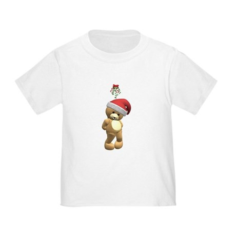 Christmas Teddy Bear Toddler T-Shirt