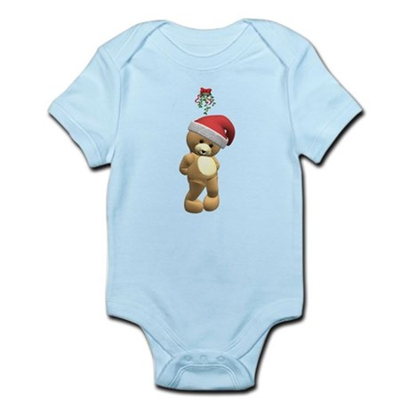 Christmas Teddy Bear Infant Bodysuit