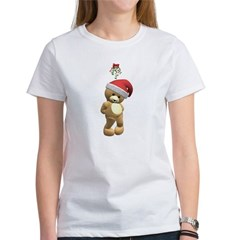 Christmas Teddy Bear Women's T-Shirt