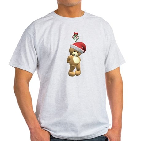 Christmas Teddy Bear Light T-Shirt