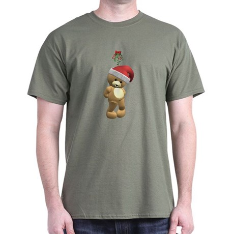 Christmas Teddy Bear Dark T-Shirt