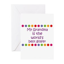 My Grandma is the world's bes Greeting Cards (Pk o
