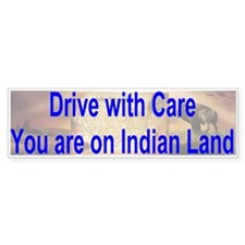 Native American-BS Bumper Bumper Sticker