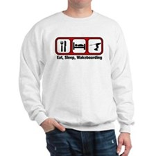 Eat, Sleep, Wakeboarding Sweatshirt