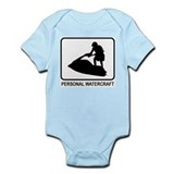 Personal Watercraft (white) Infant Bodysuit