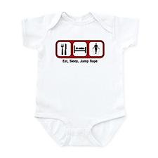 Eat, Sleep, Jump Rope Infant Bodysuit