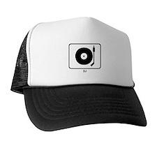 DJ (white) Trucker Hat